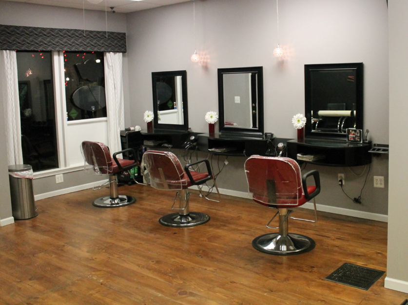 Rootz Hair Salon Styling Area